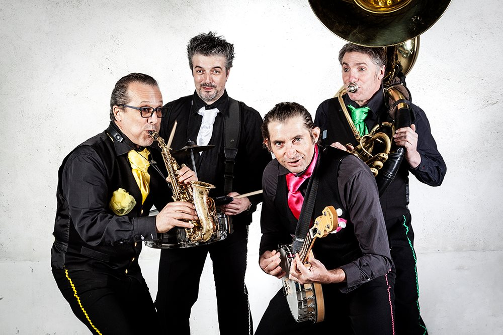 Les promenades musicales – Baby Brass Band